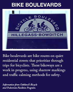 Bike boulevards graphic